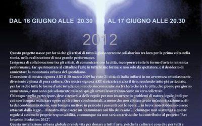 2012 – Art Invasion 2012