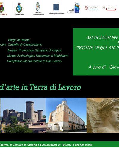 2014 - Itinerario d'arte in Terra di Lavoro