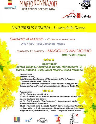 2017 - Universus Femina - l'Arte delle Donne